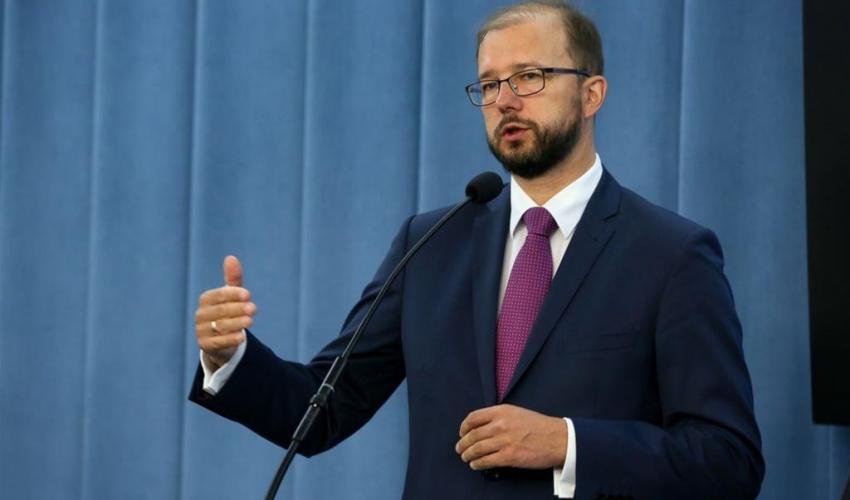 Deputy Minister of Science and Higher Education Piotr Dardzinski